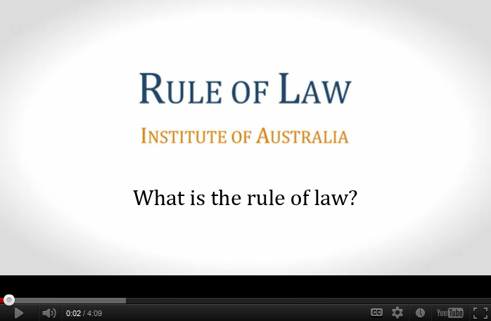 what is the rule of law The rule of law requires criminal laws to be enforced in a uniform way for some suspects, this can mean that special measures are needed to give them a fair chance to present a defence non-nationals, for example, may need interpretation and children may need additional support so that they can participate effectively in the trial.
