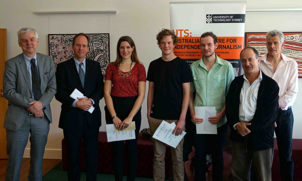 Click to see UTS Essay Prize Winners
