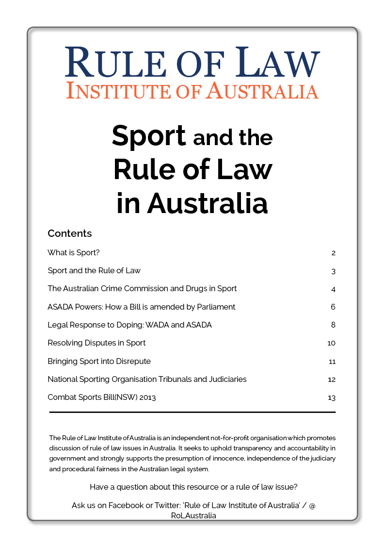 Image_Rule of Law Institute_Booklet - Sport and the Rule of Law