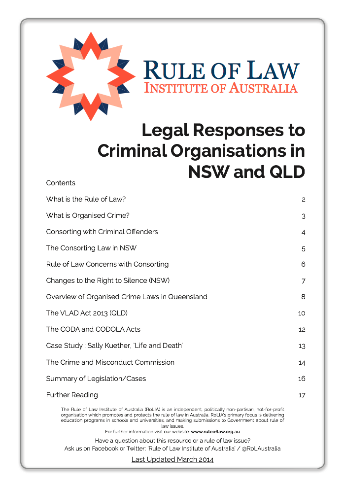 australian law and business case study