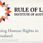 Human Rights Law – BEAQ Conference Brisbane 2017