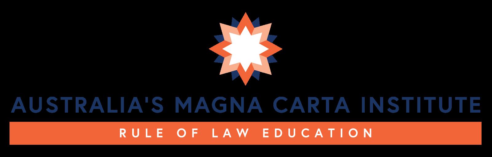 Australia's Magna Carta Institute - Rule of Law Education