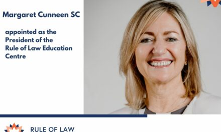 New President at Rule of Law Education Centre