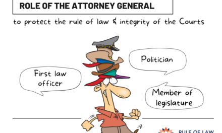 What is the proper role of the Attorney General in Australia?