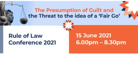 Presumption of Guilt Conference